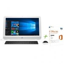 "Computador All in One HP 20-e003br Intel Dual Core - 4GB 500GB LED 19,45"" + Office 365 Personal"