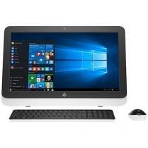 "Computador All in One HP 23-r100br Intel Core i5 - 4GB 500GB LED 23"" Função TV Windows 10"