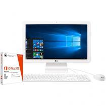 """Computador All in One LG 22V240 Intel Quad Core - 4GB 500GB LCD 21,5"""" + Pacote Office 365 Personal"""