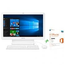 "Computador All in One Samsung E1 Intel Dual Core - 4GB 500GB LED 21,5"" + Office 365 Personal"