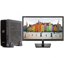 "Computador Braview Mini Truck i5M05-1 - Intel Core i5 8GB 1TB Linux + Monitor LG LED 19,5"""