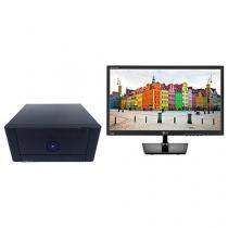 "Computador Braview Mini Twinsys J810 - Intel Dual Core + Monitor LG LED 19,5"" Widescreen"