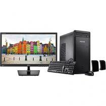 "Computador Positivo Premium DRi7160 Intel Core i3 - 4GB 1TB Linux + Monitor LG LED 19,5"" Widescreen"