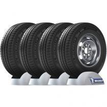 Conjunto 4 Pneus Michelin 205/70 R15C 106/104R - Agilis R para Van e Utilitários