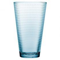 Conjunto de 6 copos Altos de alta qualidade - Azuis - Pasabahce