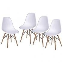 Conjunto de Cadeira 4 Peças - Inovakasa Itália Eames