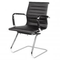 Conjunto de Cadeiras Inter Metálica Cromada 2 Unidades - Multivisão - Multivisão