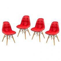 Conjunto de Cadeiras para Cozinha 04 Peças - Inovakasa Ásia Minnesota