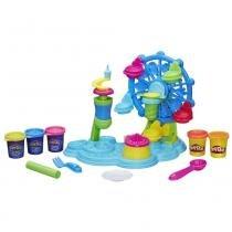 Conjunto de Massinhas Play-Doh Roda Gigante CupCake B1855 - Hasbro - Hasbro