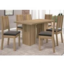 Conjunto de Mesa Cena com 6 cadeiras - Dj Móveis