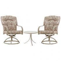 Conjunto de Mesa com 2 Cadeiras Bali - Mor