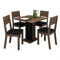 Conjunto de Mesa com 4 Cadeiras Bali - Madesa