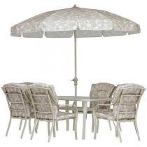 Conjunto de Mesa com 6 Cadeiras Bali - Mor