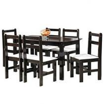 Conjunto de Mesa com 6 Cadeiras Mille - Fritz Móveis