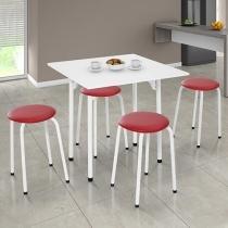 Conjunto de Mesa Dobrável com 4 Cadeiras Formóveis - 217/315