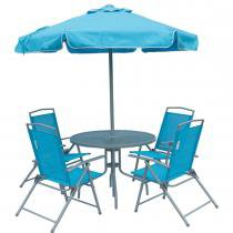 Conjunto Miami para Jardim Azul/Cinza 85300 - Belfix - Belfix