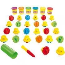 Conjunto Play-Doh Aprendendo as Letras B3407 - Hasbro - Hasbro