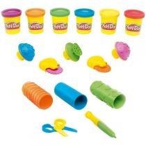 Conjunto Play-Doh Aprendizado Sensorial B3408 - Hasbro - Hasbro