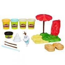 Conjunto Play-Doh Conjunto Verão Olaf B3401 - Hasbro - Hasbro