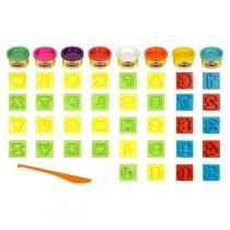 Conjunto Play-Doh Letras e Números 21018 - Hasbro - Hasbro