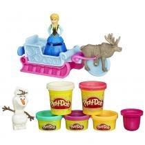 Conjunto Play-Doh Trenó Fronzen e Amigos B1860 - Hasbro - Hasbro