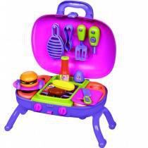 Conjunto Prime Burger da Minnie Disney FTW018 - Zippy Toys - Zippy Toys
