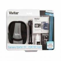 Conjunto Vivitar De 5 Acessórios Essenciais Para Câmera Digital Compacta - VIVSK820 - Vivitar
