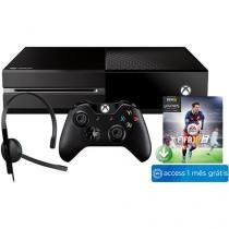 Console Xbox One 500GB Microsoft 1 Controle - com Fifa 16 + 1 Mês de EA Access Via Download