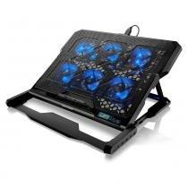 Cooler para Notebook com 6 Fans Led Azul Hexa AC282 - Multilaser - Multilaser