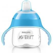 Copo de Treinamento 6m+ Pinguim Azul 200ml - Philips Avent - Philips Avent