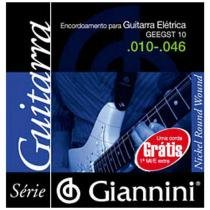 Corda Para Guitarra Super Light Mí GEEGST9.4 Giannini - Giannini