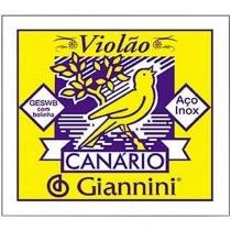 Corda para Violão 1ª Mi Em Aço Com Bolinha GESWB1-Mi Giannini - Giannini