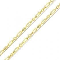 Corrente em Ouro 18k Cartier 3 em 1 co02596 Joiasgold