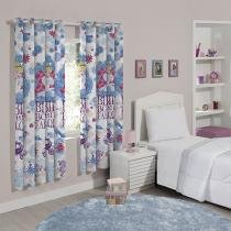Cortina para Quarto Estampada Princess Fabulous - 2,00x1,80m Santista