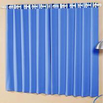 Cortina para Quarto/Sala Azul A Criativa - Arco-Iris 2,00x1,70m