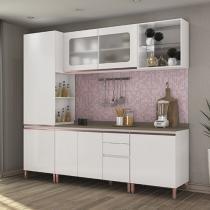 Cozinha Compacta Kappesberg Veneza - 7 Portas 3 Gavetas