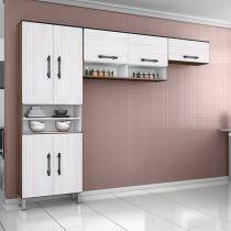 Cozinha Compacta Poliman Móveis - Milena 11 Portas