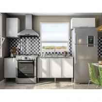 Cozinha Completa Líder Casa Aroma - 6 Portas