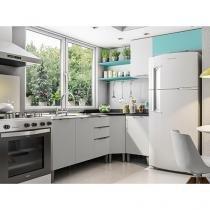 Cozinha Completa Líder Casa Aroma com Balcão - 6 Portas 3 Gavetas