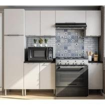 Cozinha Completa Líder Casa Aroma com Balcão - 9 Portas
