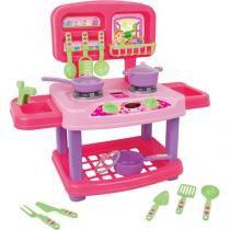 Cozinha Sweet Fantasy Super Kicthen - Brinquedos Cardoso