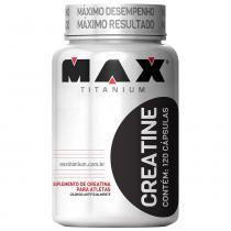 Creatine 120 Cápsulas - Max Titanium - Natural Max Titanium