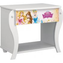 Criado-Mudo 1 Gaveta Pura Magia - Princesas Disney Star