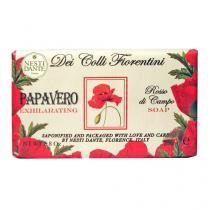 Dei Colli Fiorentini Papoula Nesti Dante - Sabonete Floral em Barra - 250g - Nesti Dante