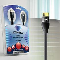 Diamond Cable JX-1020 1.8 Metros - Cabo HDMI High Speed com Ethernet 10.2Gbps 3D 4K ARC - DMD