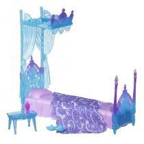 Disney Cenário Luxo Cama da Elsa - Hasbro - Frozen