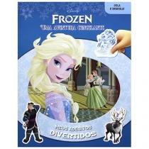 Disney Frozen Uma Aventura Congelante - Meus Adesivos Divertidos - DCL