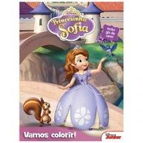 Disney Junior Vamos Colorir! Princesinha Sofia - DCL