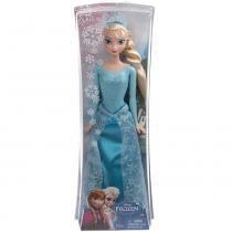 Disney Princesas Frozen - Elsa Vestido Brilhante - Mattel - Frozen