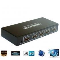 Distribuidor HDMI 4X1 Hi-Speed 60.123 - Golden - Golden